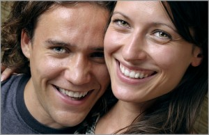 Smiling Couple, Restorative Dentistry, Dental Bonds